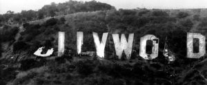 The Hollywood Sign in August of 1978. (Photographer: Ken Papaleo/LAPL 00041558) —