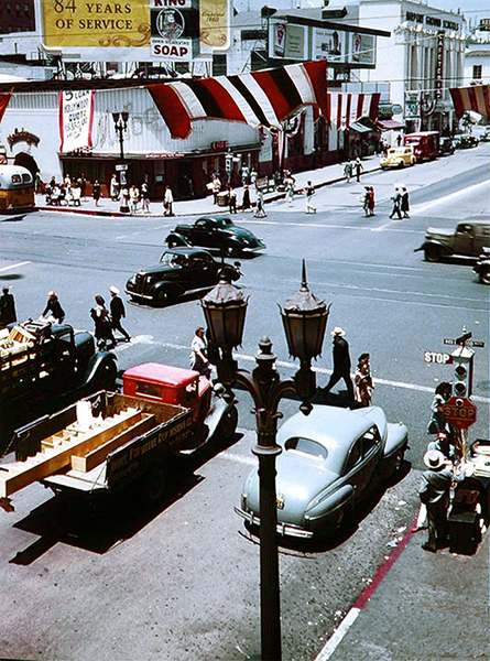 Hollywood and Vine 1940