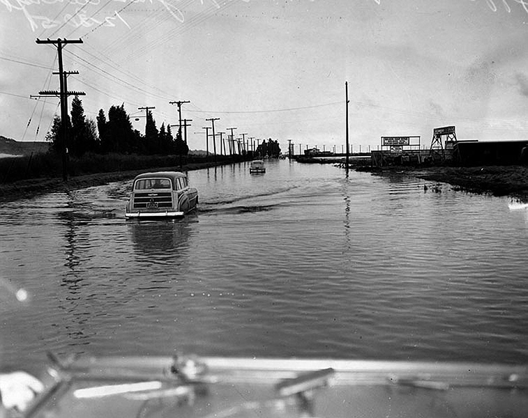 Flooding Jefferson Blbd 1951