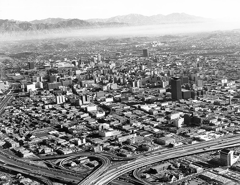Downtown Los Angeles 1965