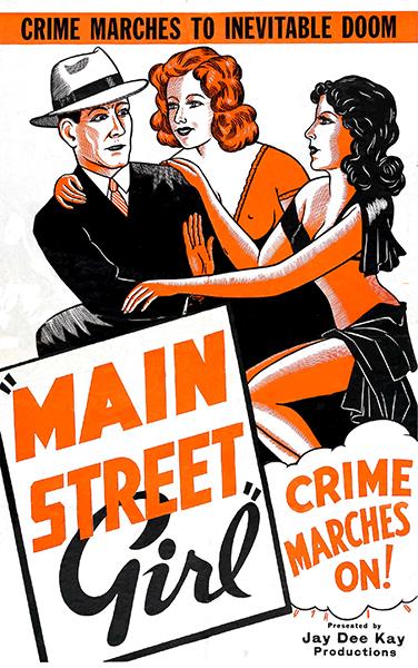 Main Street Girl 1938
