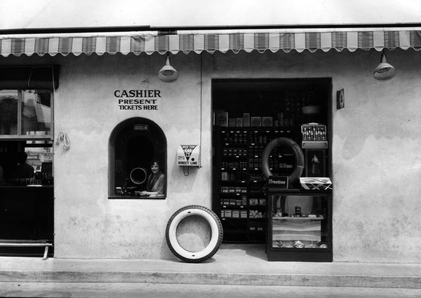 Parking garage 1930