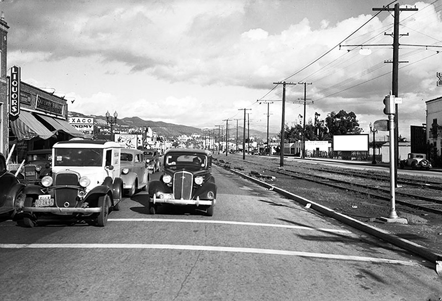 Santa Monica Blvd Beverly Hills 1937