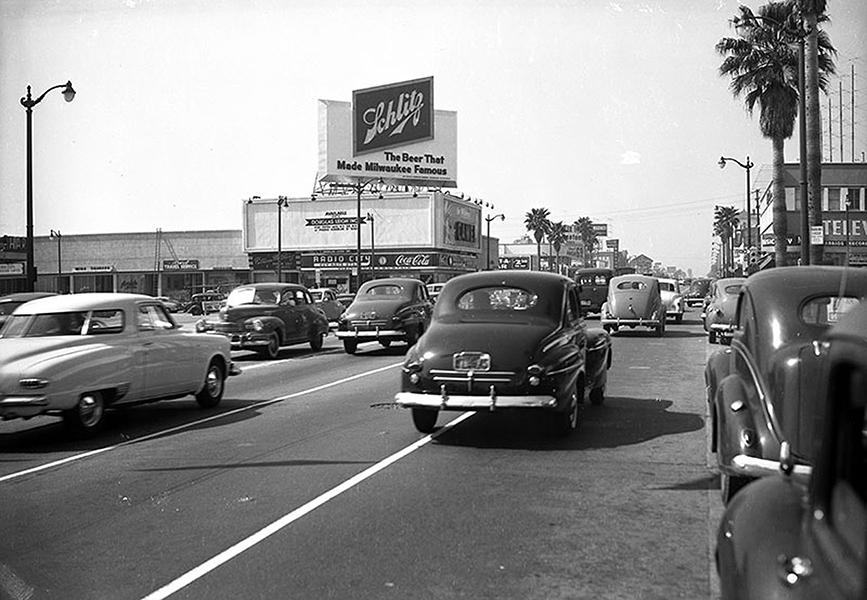Sunset and Vine 1950