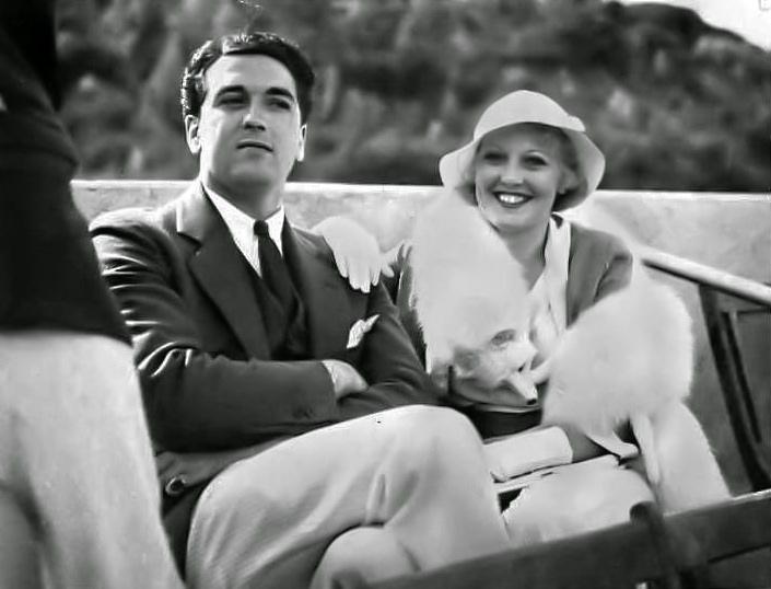 Pat DiCicco and Thelma Todd. (Bizarre Los Angeles)