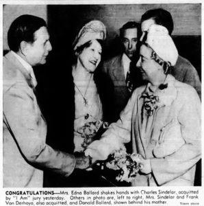 Charles and Pearl Sindelar Edna Ballard