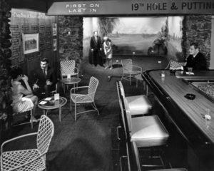 Stear's For Steaks in Beverly Hills in 1968. Bizarre Los Angeles