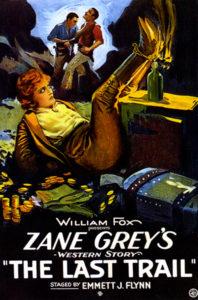 """The Last Trail"" (1921), starring Eva Novak. Bizarre Los Angeles"