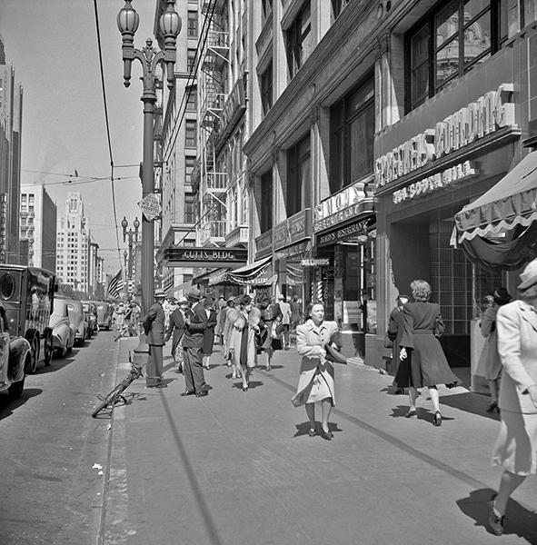 Cuts Building 1940s