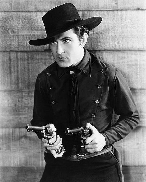 "Johnny Mack Brown as ""Billy the Kid"" (Bizarre Los Angeles)"