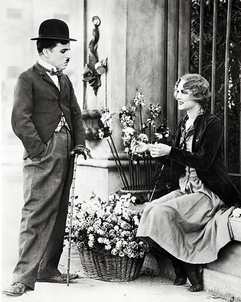 City Lights Chaplin Virginia Cherrill