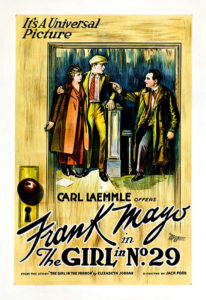 The Girl in No. 29 poster 1920