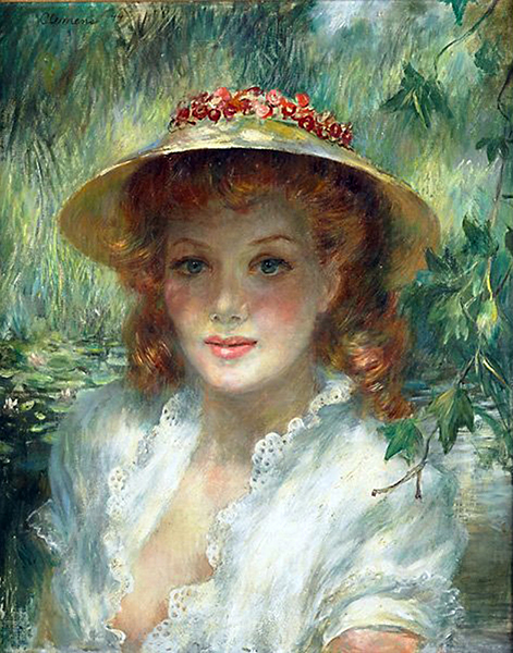 Jean Parker painting