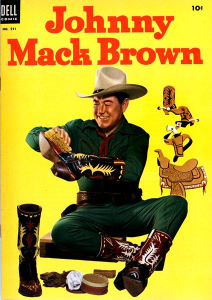 Johnny Mack Brown comic book