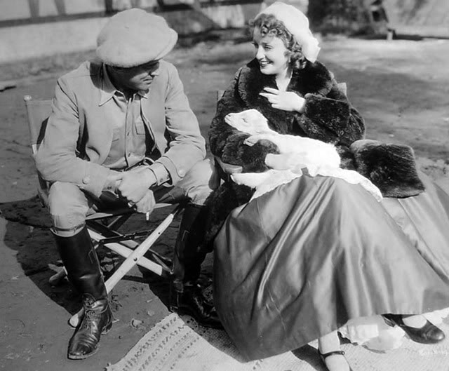 W.S. Dyke with Jeanette MacDonald 1935