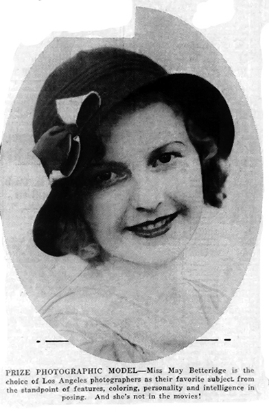 May Betteridge 1933