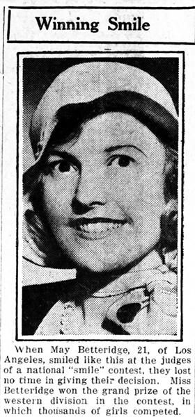 May Betteridge 1932