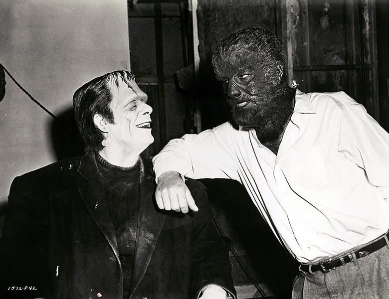 Glenn Strange Lon Chaney Jr Frankenstein Wolfman