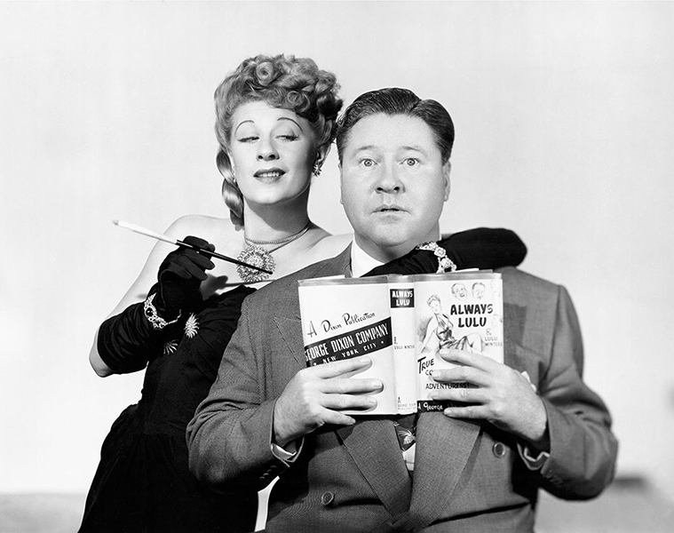 """The female, when it tries, is much more deadly than the male."" -- Jack Oakie (Bizarre Los Angeles)"