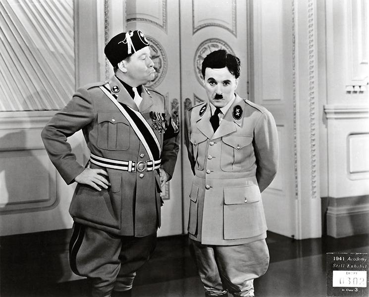 Jack Oakie Charles Chaplin