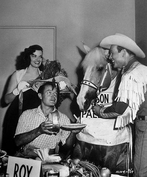 Jane Russell Bob Hope Roy Rogers Trigger