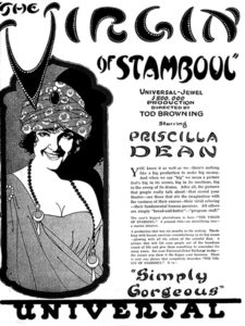 The Virgin of Stanboul (1920) with Priscilla Dean. (Bizarre Los Angeles)