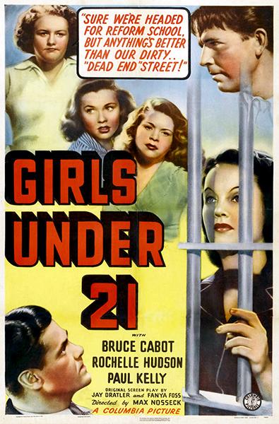 Girls Under 21 poster 1940