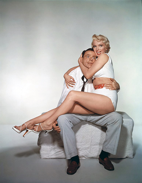Tom Ewell and Marilyn Monroe (Bizarre Los Angeles)
