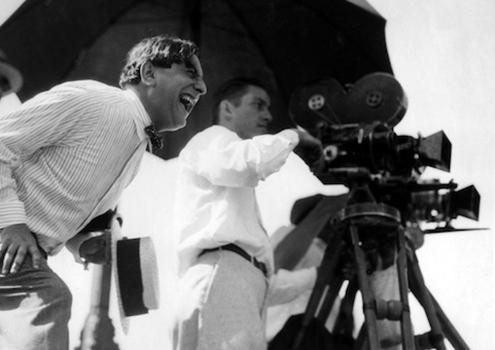 Ernst Lubitsch directing