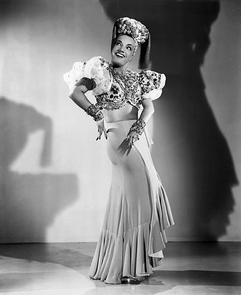"""Before I speak Engleesh, you Americans treat me like I was a great foreign star. Now you act like I am slightly half-wit baby."" -- Carmen Miranda (Bizarre Los Angeles)"