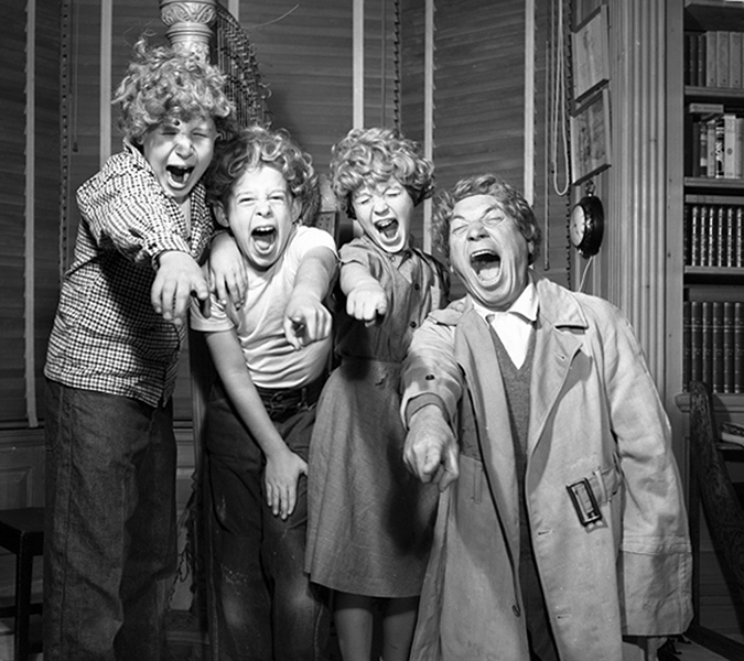Harpo Marx and Kids
