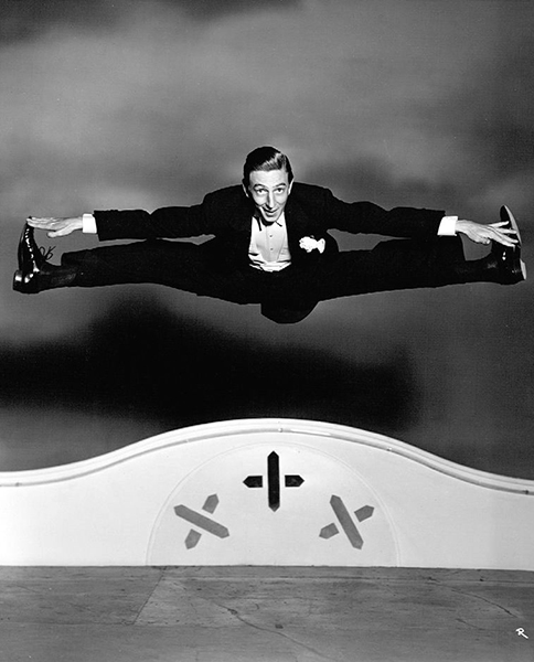 """""""I was hired as a comedian in my first show and I'm still a comedian. I became a dancer in self-defense. I was doing a comedy monologue and didn't know how else to get off, so I danced off. I've been dancing ever since - but I'm still a comedian."""" -- Ray Bolger (Bizarre Los Angeles)"""