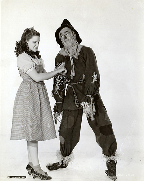 Ray Bolger Judy Garland Wizard of Oz