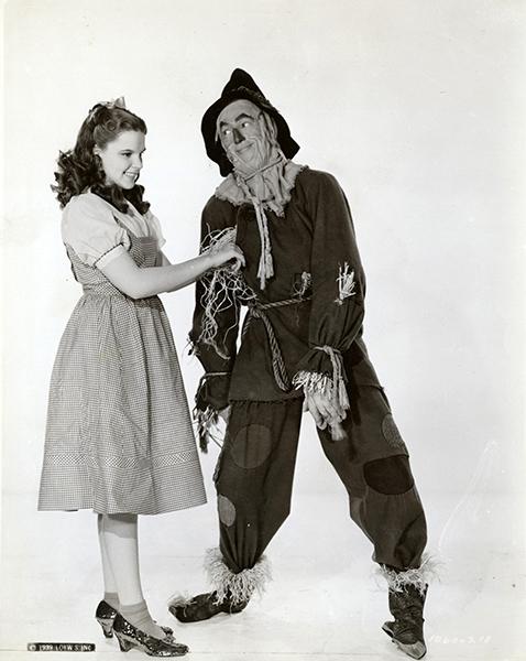 Ray Bolger Judy Garland Wizard of Oz