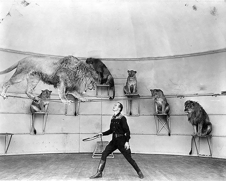Dick Walker Lion Tamer