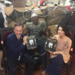 Craig Owens and Ginger Pauley at King Richards Antique Center. (Bizarre Los Angeles)