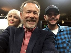 Susan Slaughter, Craig Owens and Steve Gonsalves at Dark Delicacies. (Bizarre Los Angeles)