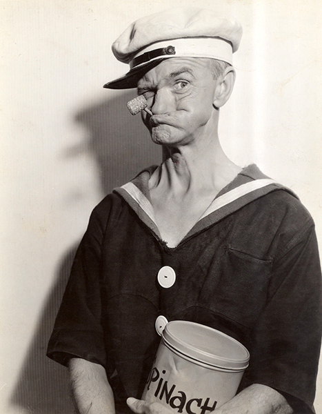 John Wagstaff as Popeye