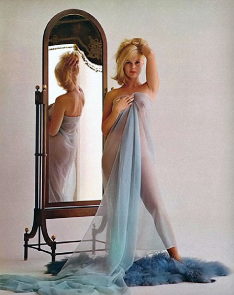 """I did it because I wanted to. I wanted to do it so much that I wouldn't even take the money. I didn't wear a stitch and I felt wonderful all over."" -- Carol Lynley on why she posed for Playboy in 1965. Bizarre Los Angeles"