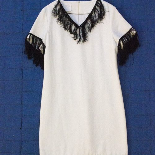 White Flapper Dress