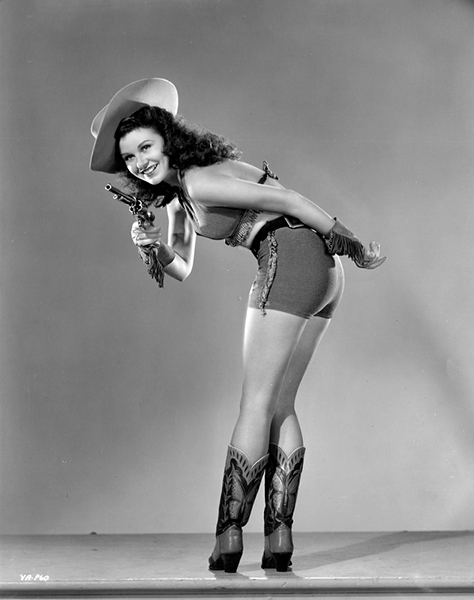"""Vivian Austin - Hollywood's """"Most Viewtiful Brunette"""" of 1944. Bizarre Los Angeles."""