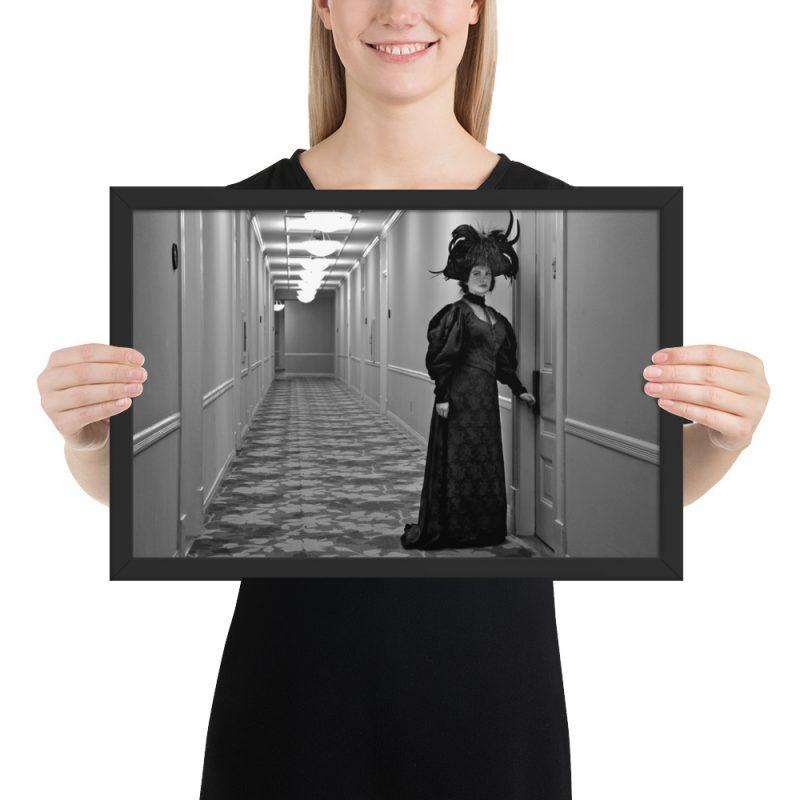 """Kate Morgan's Ghost"" Framed Poster"