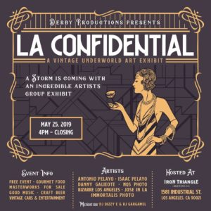 L.A. Confidential Iron Triangle Brewery Craig Owens Bizarre Los Angeles