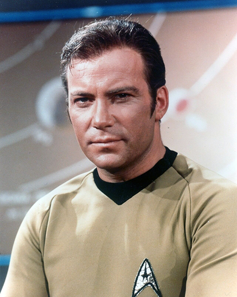 """All in all, Kirk's character is something I am very proud of."" -- William Shatner (Bizarre Los Angeles)"