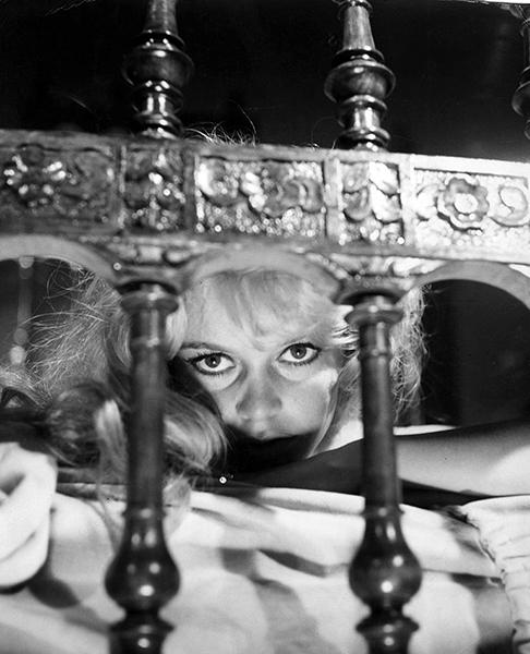 """I am really a cat transformed into a woman . . . I purr. I scratch. And sometimes I bite."" --Brigitte Bardot (Bizarre Los Angeles)"