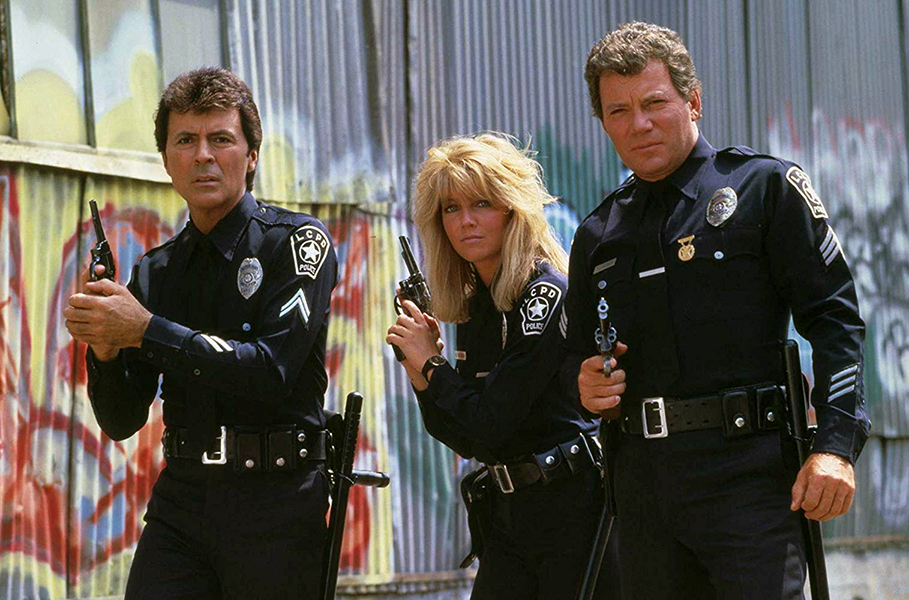 TJ Hooker with James Darren, Heather Locklear and William Shatner