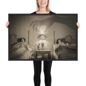 """Spooky Night"" taken inside a room at the historic (and haunted) Glen Tavern Inn in Santa Paula, CA."