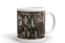 """Buster Keaton """"The High Sign"""" Mug"""