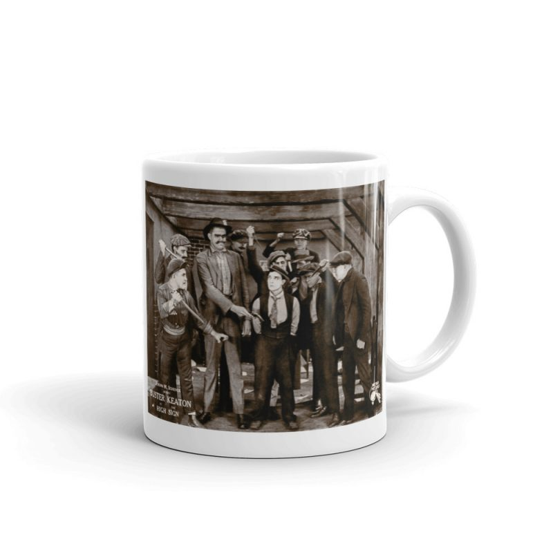 "Buster Keaton ""The High Sign"" Mug"