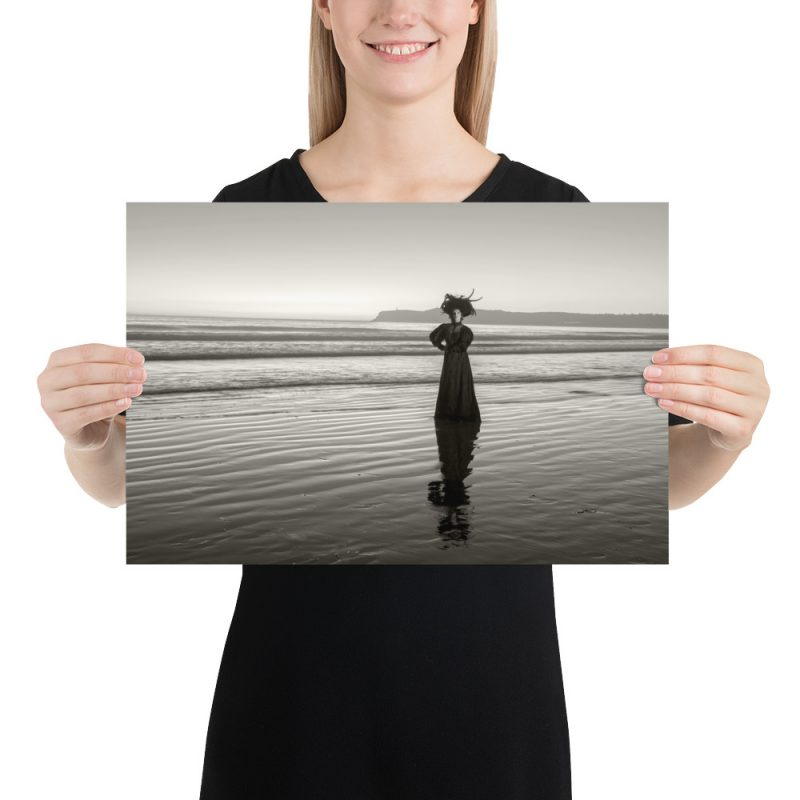"""""""Ghost on the Beach"""" by Craig Owens. Taken on Coronado Beach. The photo and story behind it can be found in the book HAUNTED BY HISTORY VOL. 1."""